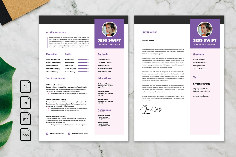 CV Resume - Product Designer Profile