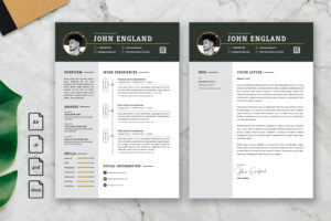 CV Resume - Social Media Planner Profile