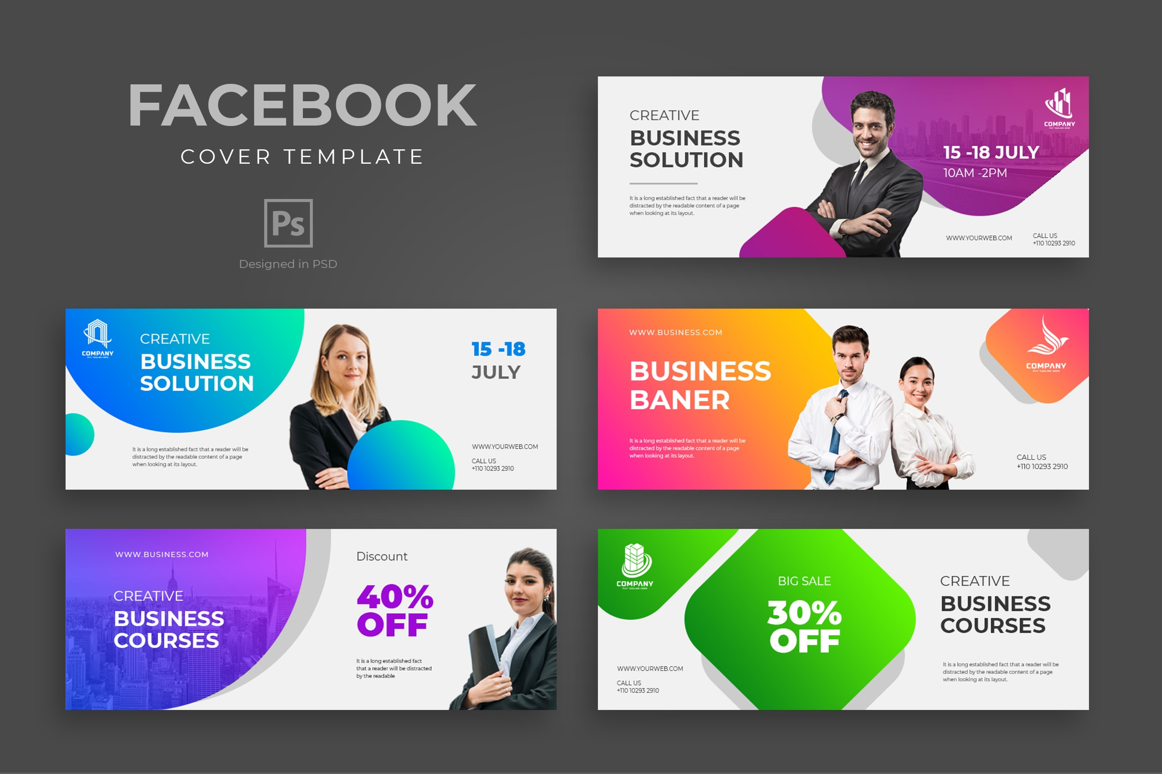 Facebook Cover - Creative Business Solution
