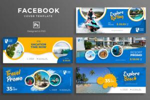 Facebook Cover - Explore Beach