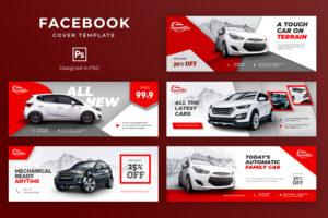Facebook Cover - Modern Car Showroom