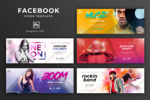 Facebook Cover - Music Party Festival