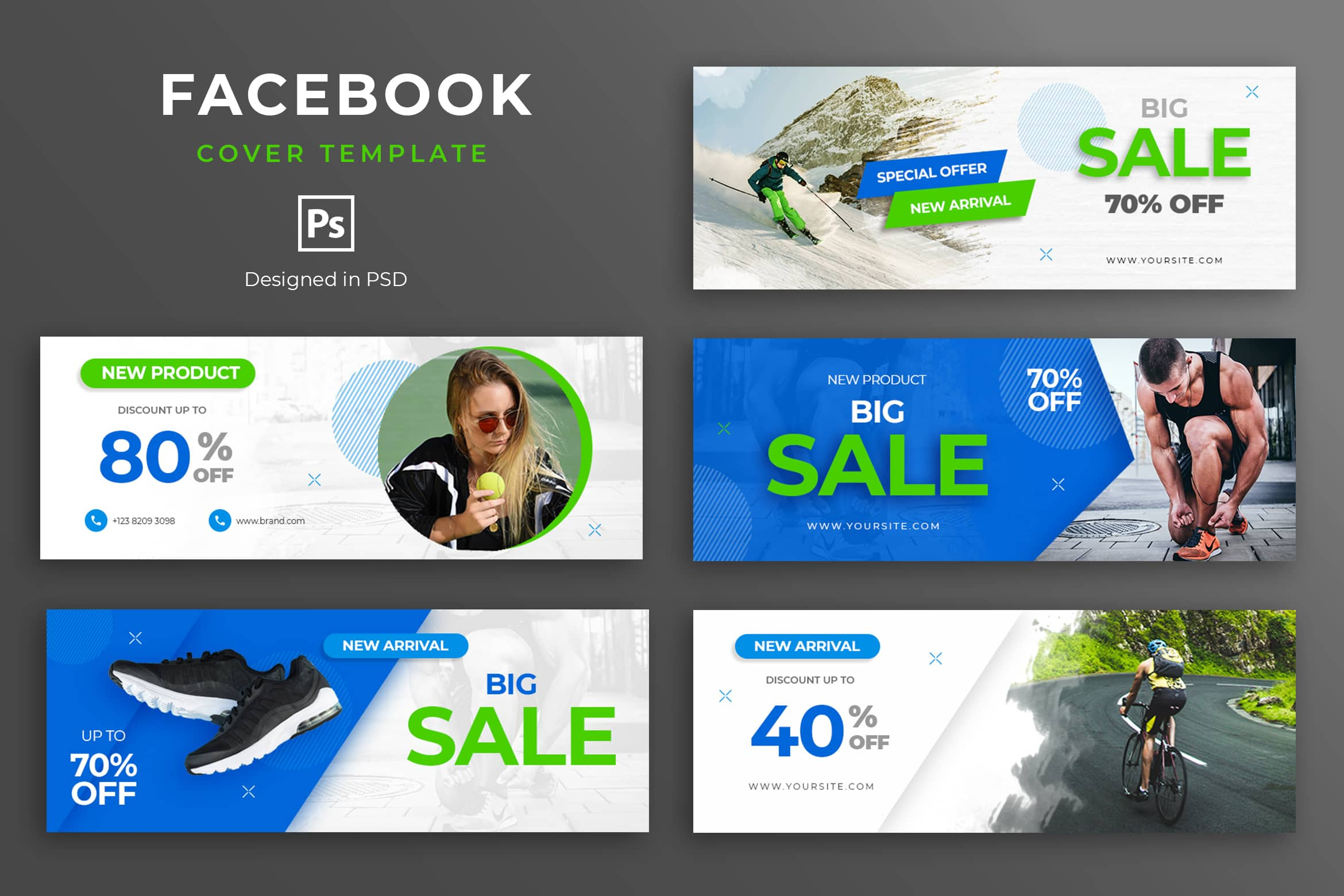 Facebook Cover - Shoes Sport Sales
