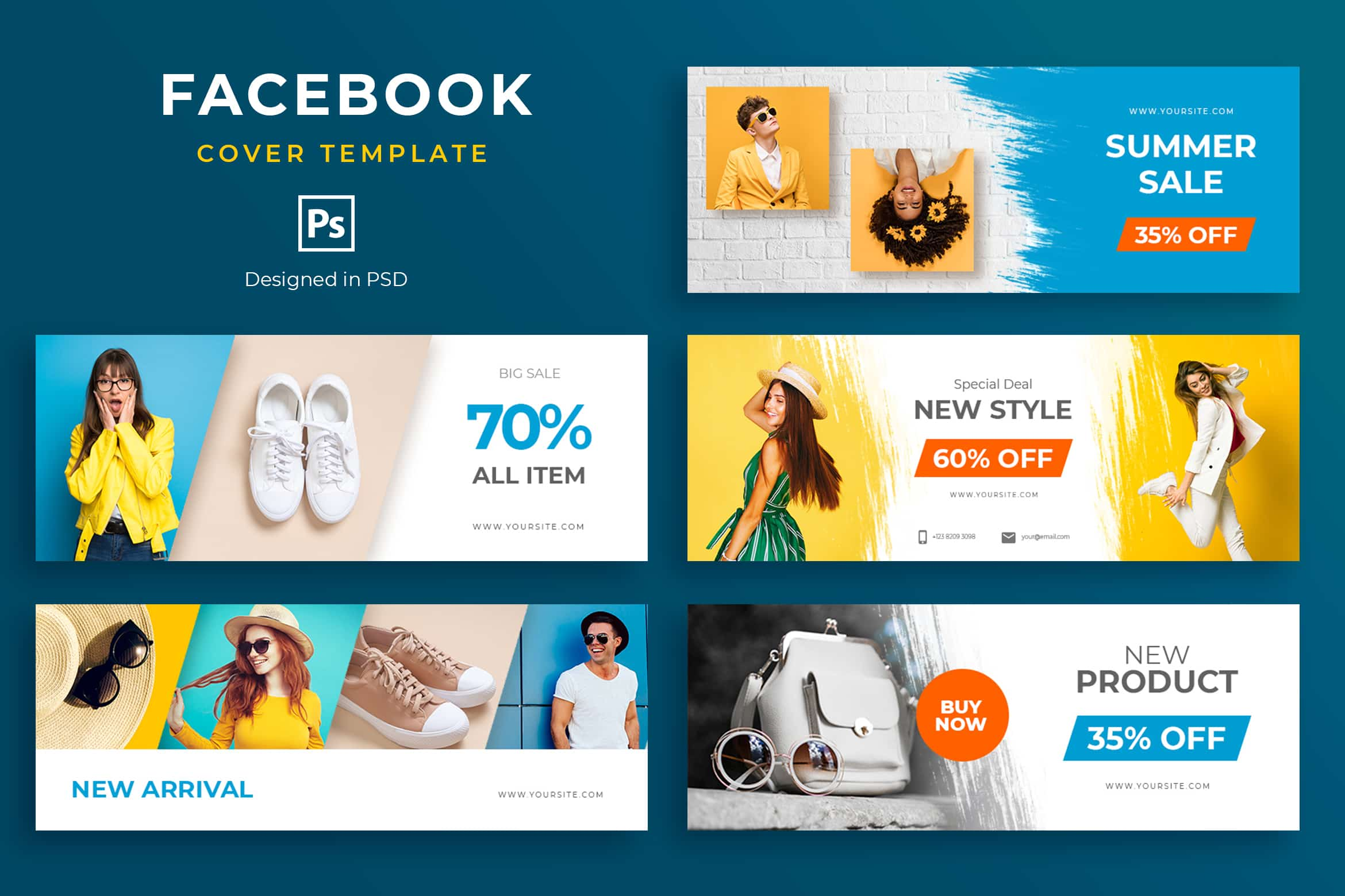 Facebook Cover - Summer Sale Discount