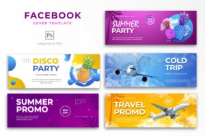 Facebook Cover - Travel Party