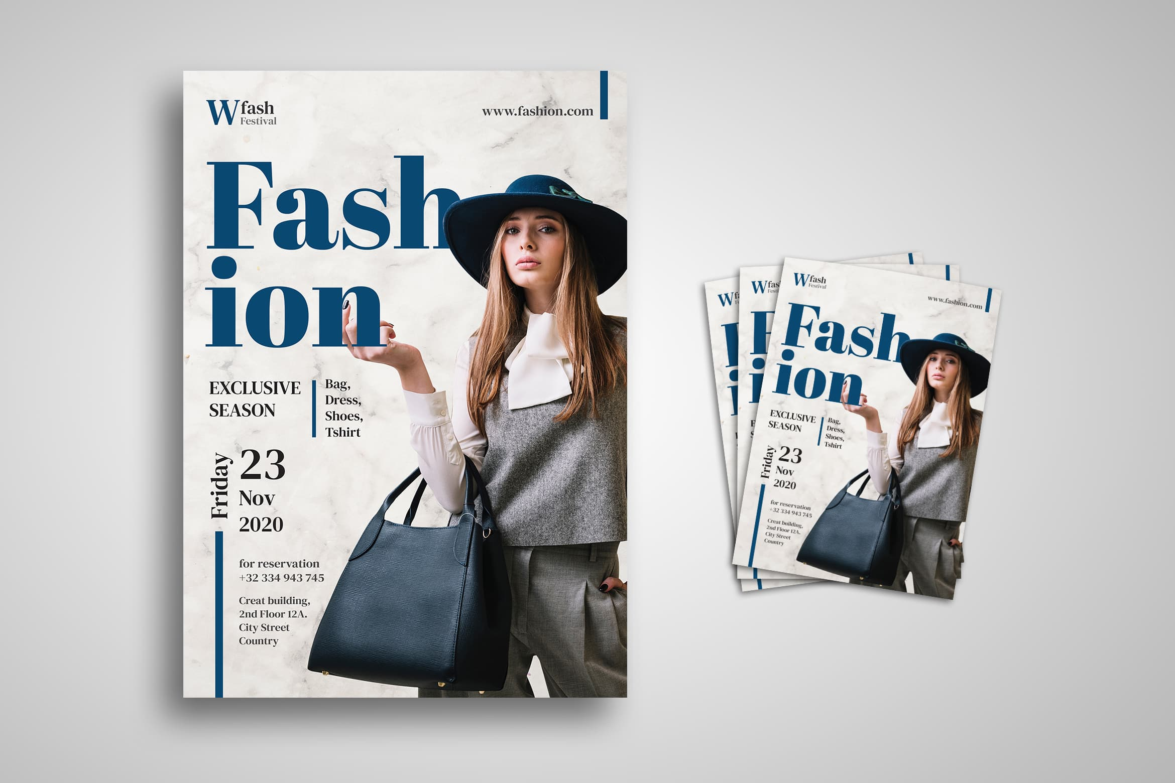 Flyer Template - Fashion Exclusive