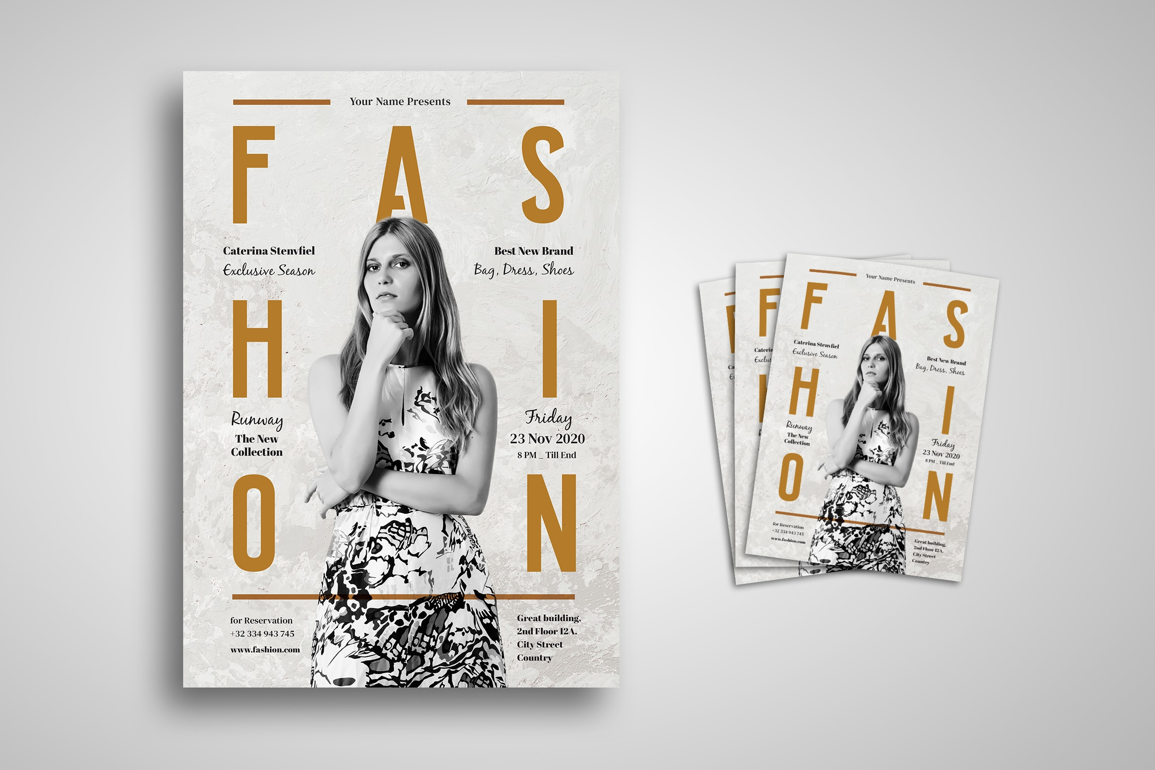 Flyer Template - Fashion Season