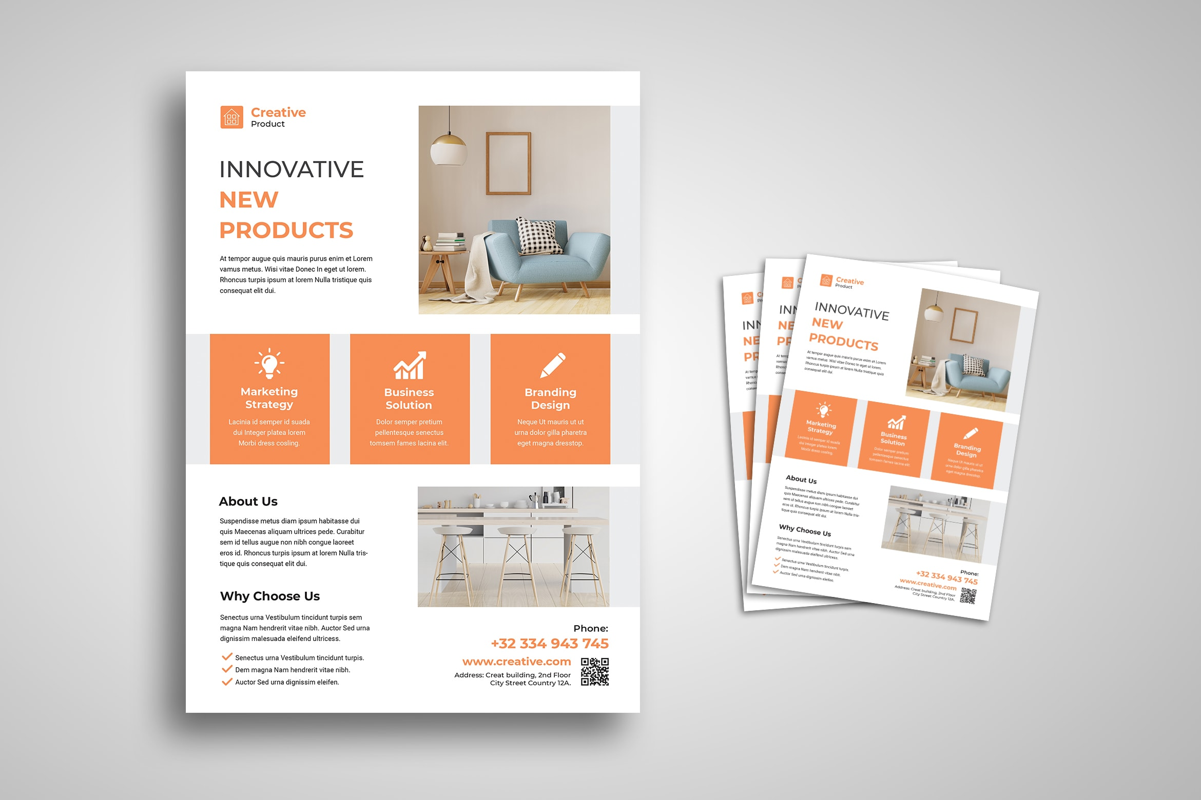 Flyer Template - Innovative Interior Product