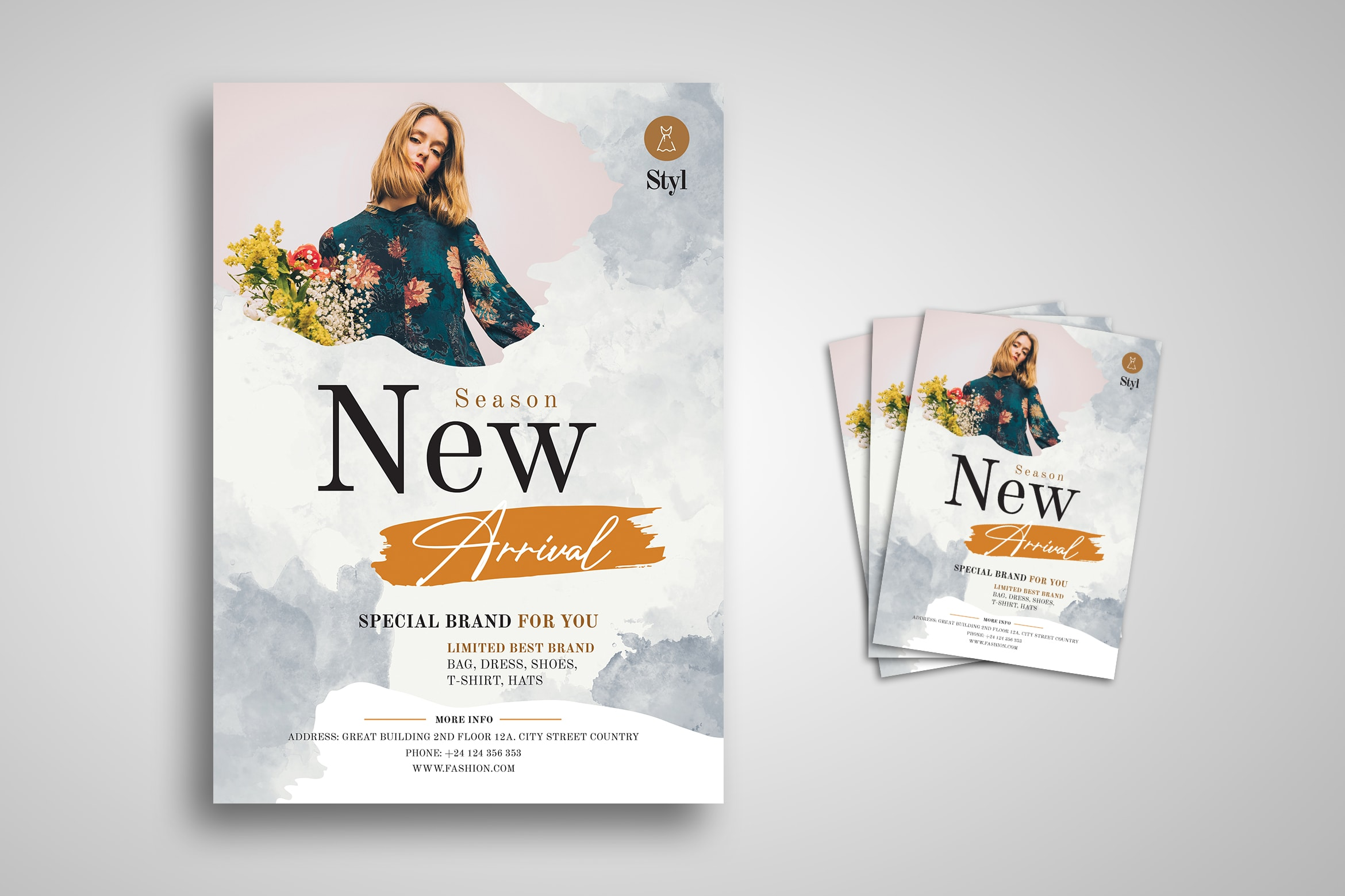 Flyer Template - Limited Best Fashion