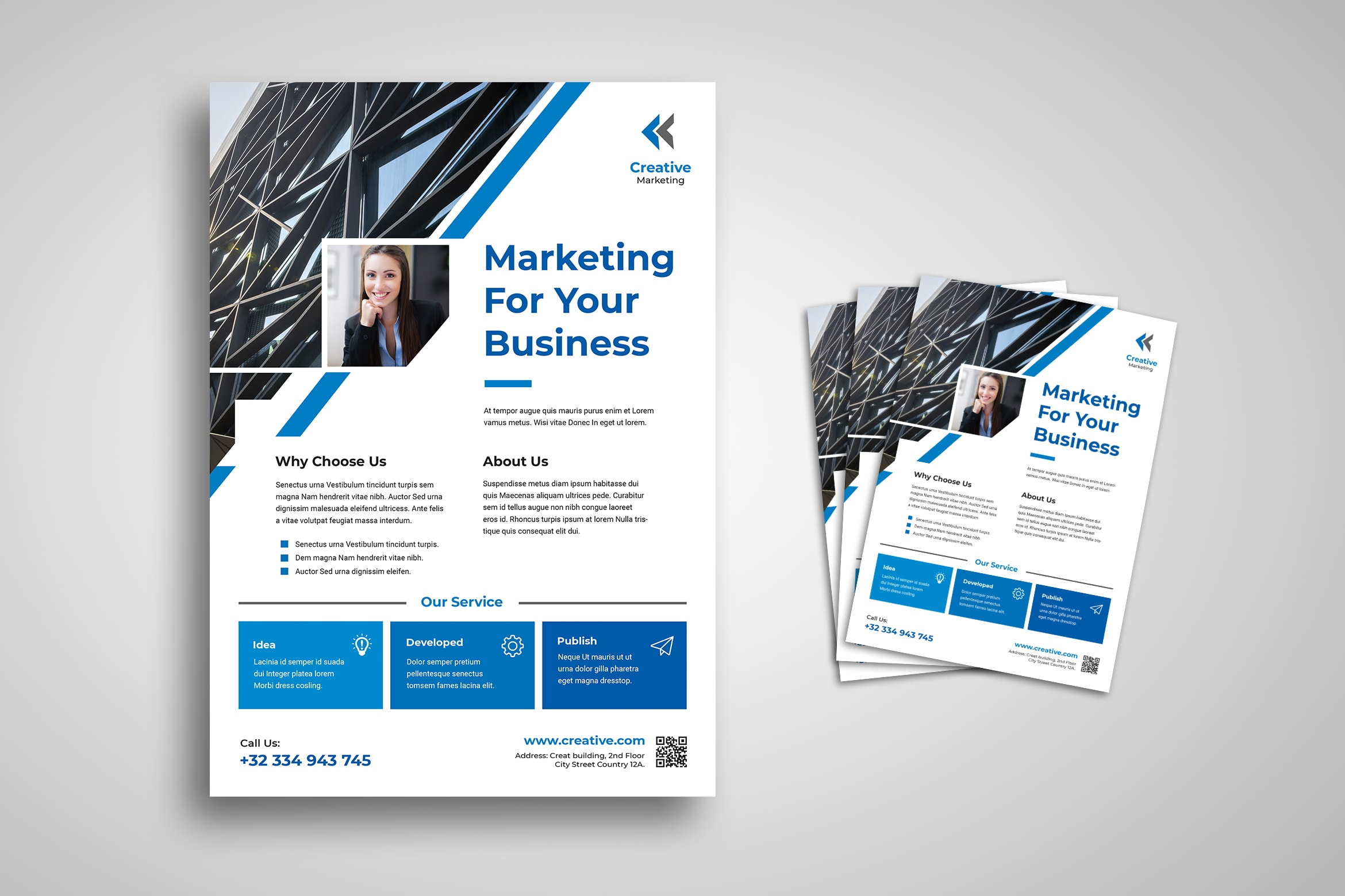 Flyer Template - Marketing For Business