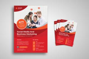 Flyer Template- Social Media Marketing