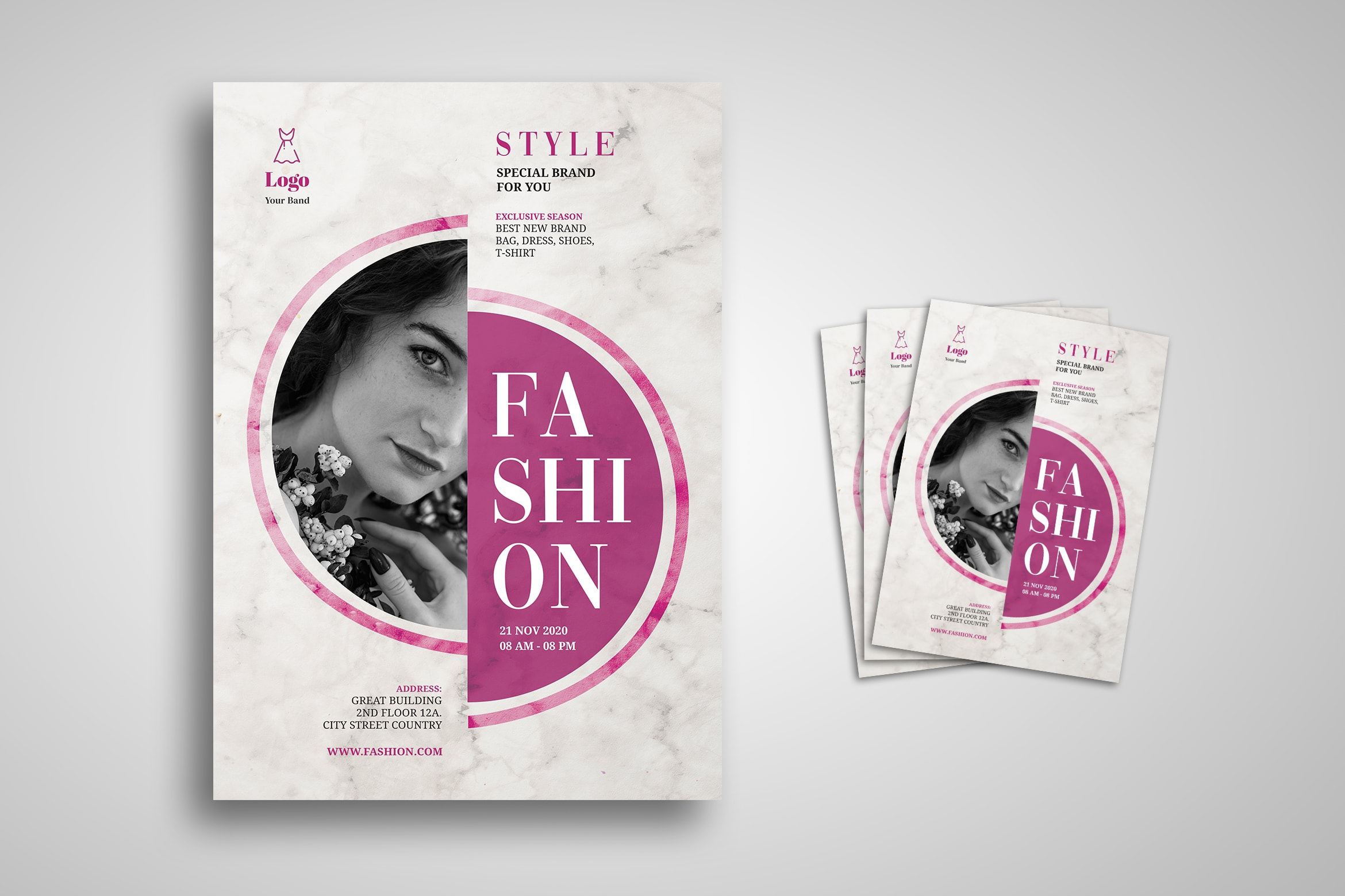Flyer Template - Special Brand Fashion