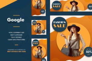 Google Ads Web Banner - Fashion Sale
