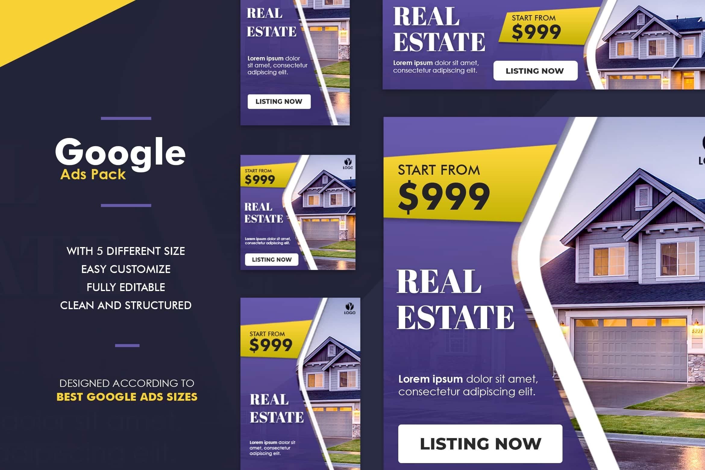 Google Ads Web Banner Real Estate Promotion