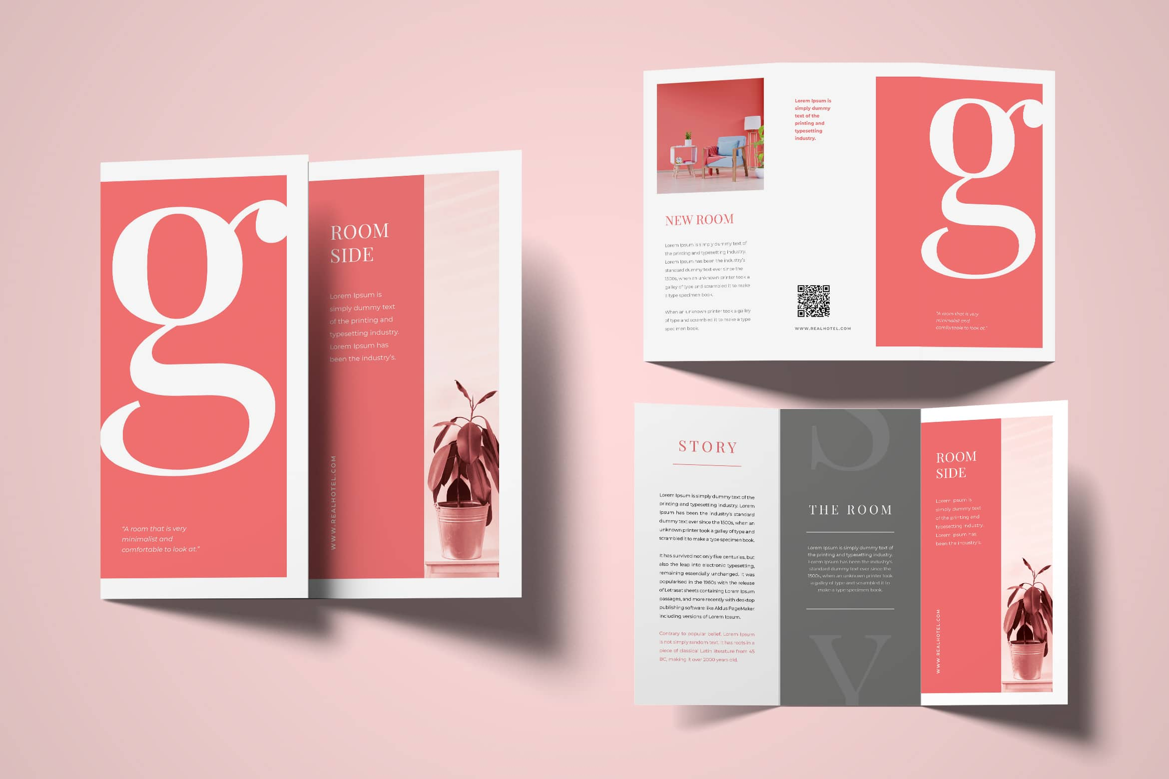 Trifold Brochure - House Interior