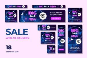 Web Banner - Big Sale Friday