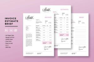 Invoice - Creative Company Transaction