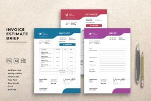 Invoice - Graphic Design Project