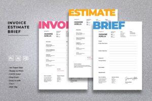 Invoice - Interface Design