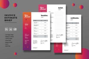 Invoice - Professional Graphic Designer