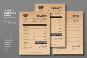 Invoice - Traditional Designer