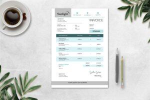 Invoice - UI & UX Designer