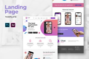 Landing Pages - Chat Apps