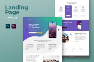 Landing Pages - Fun Music Player