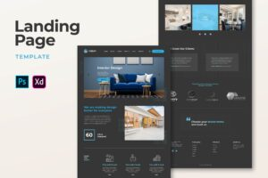 Landing Pages - Interior Design