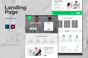 Landing Pages - Medical Center