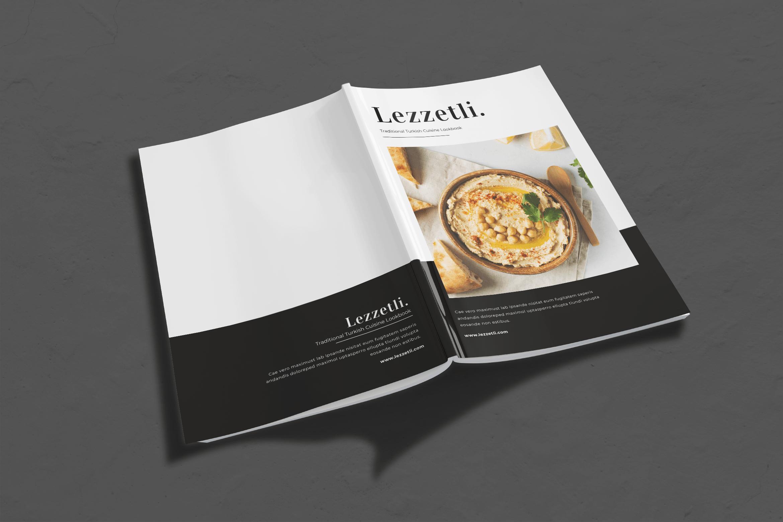 Magazine Template - Traditional Turkey Cuisine