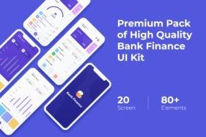 Mobile UI KIT - Bank Finance App