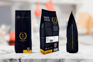 Packaging Template - Arabica Coffee