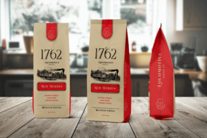 Packaging Template - Arabica Premium Coffee
