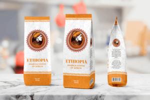 Packaging Template - Ethiopia Coffee
