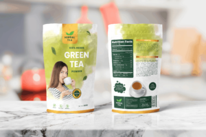 Packaging Template - Green Tea Herbal