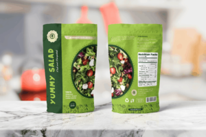 Packaging Template - Healthy Salad