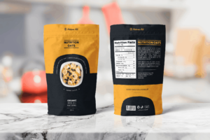 Packaging Template - Nutrition Oats