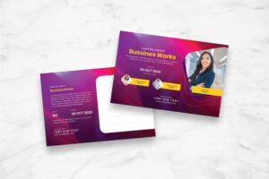 Postcard - Business Works