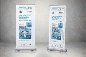 Roll Up Banner - Businessman Workshop