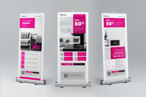 Roll Up Banner - Interior Component