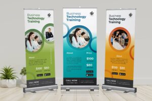 Roll Up Banner - Technology Training