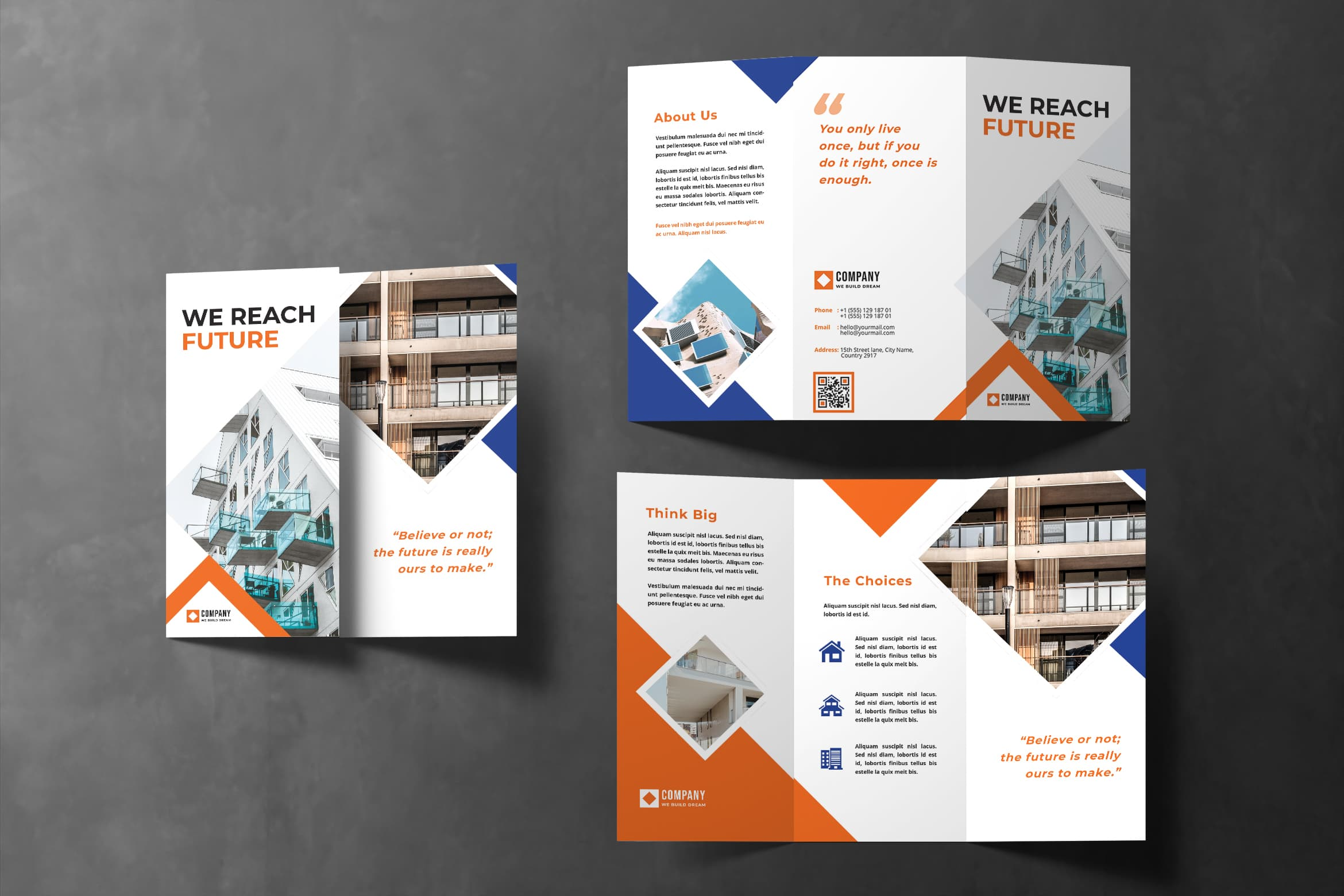 Trifold Brochure - Apartment Service Provider
