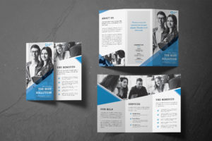 Trifold Brochure - Company Solution Services