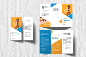 Trifold Brochure - Fashion Pop Style