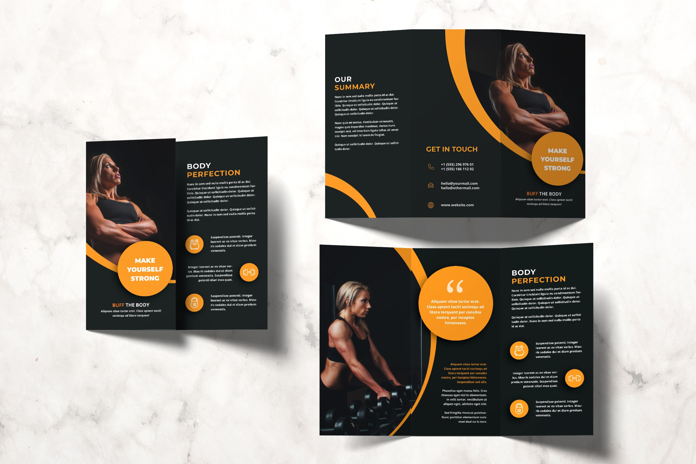 Trifold Brochure - Fitness Body Center