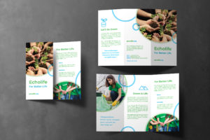 Trifold Brochure - Green Life Campaign