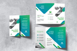 Trifold Brochure - Green Urban Planner