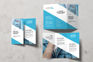 Trifold Brochure - Jeans Style Advisor