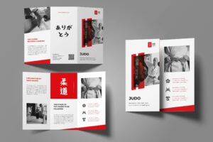 Trifold Brochure - Judo Sport Center